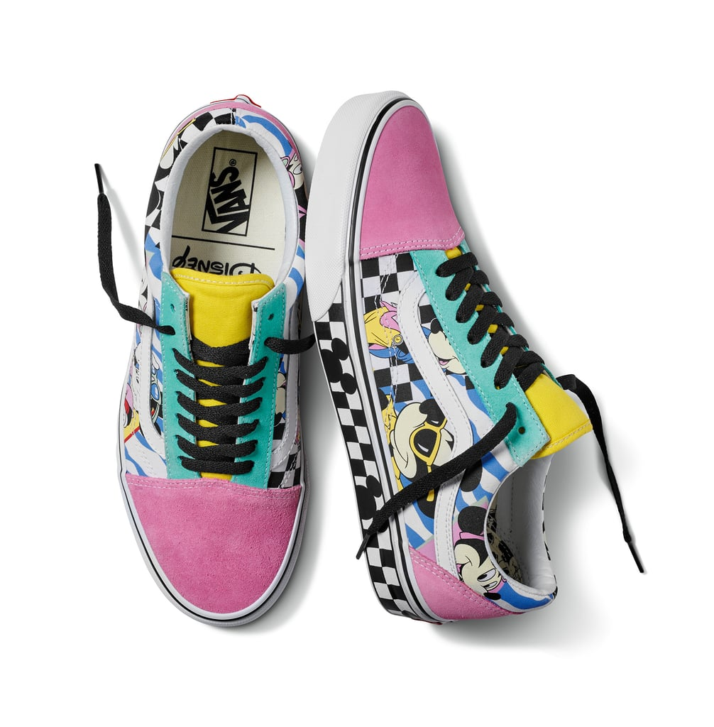 8be5c060c87f68 Disney x Vans Old Skool in '80s Mickey Mouse/True White | Disney ...