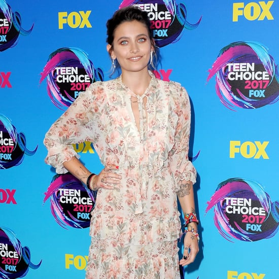 Paris Jackson Wearing Zimmermann at 2017 Teen Choice Awards