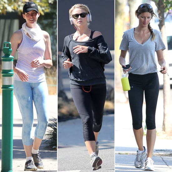 See How Your Favorite Celebs Sweat it Out!