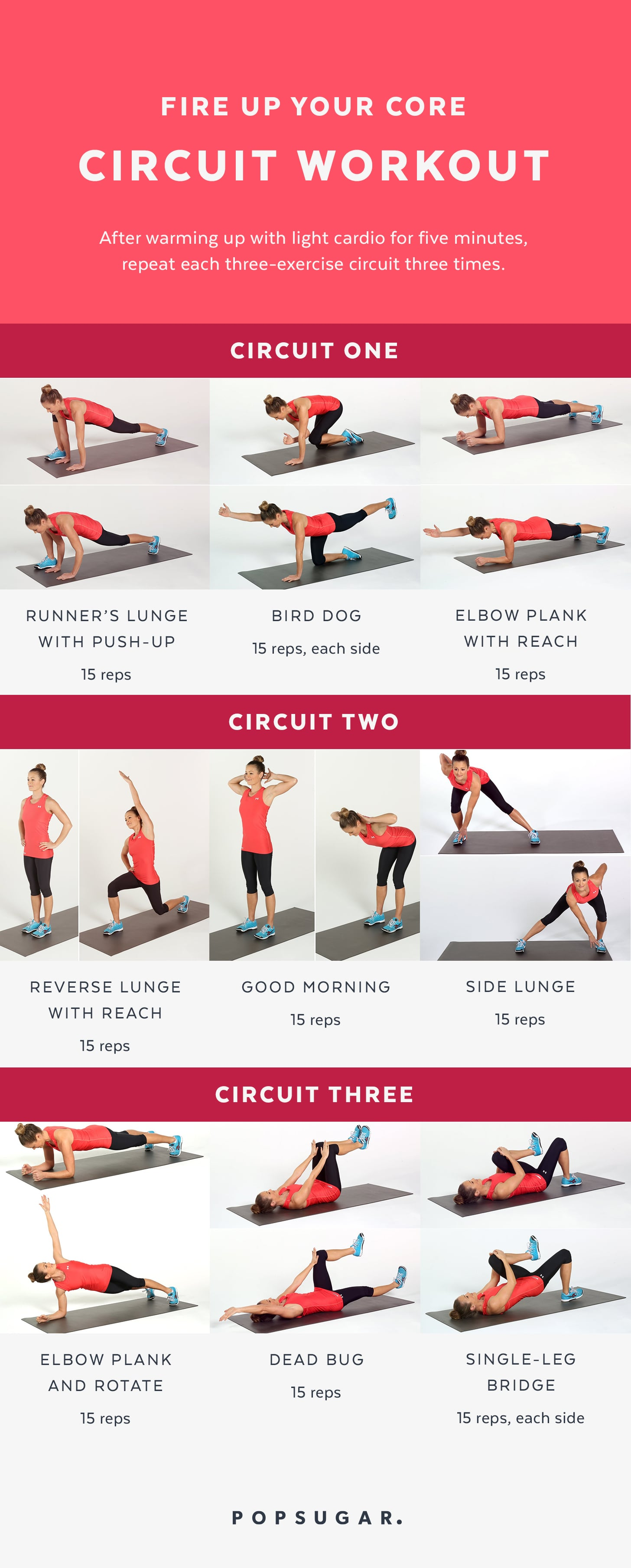 graphic about Printable Ab Workouts named Ab and Main Training Printable POPSUGAR Health
