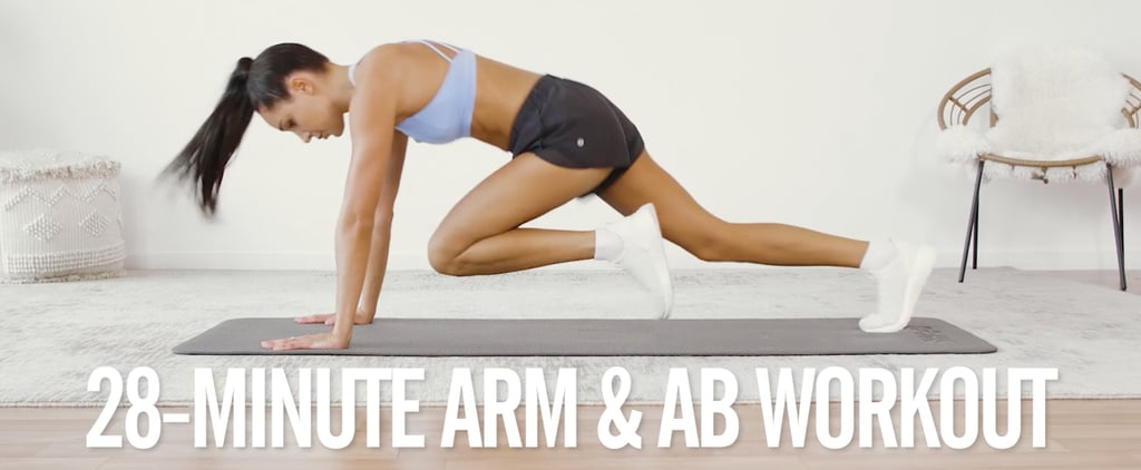 4-Week No-Equipment Workout Plan Weeks 1 & 3: Arms & Abs