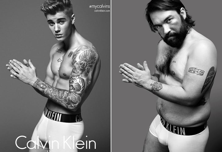 You'll Crack Up When You See How These Guys Look in Their Calvins Next to Male Models