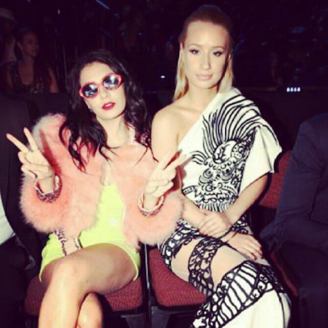 Charli XCX and Iggy Azalea made keeping the peace look glamorous.