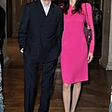 Paul McCartney and Nancy Shevell attended the Stella McCartney Fall 2012 show.