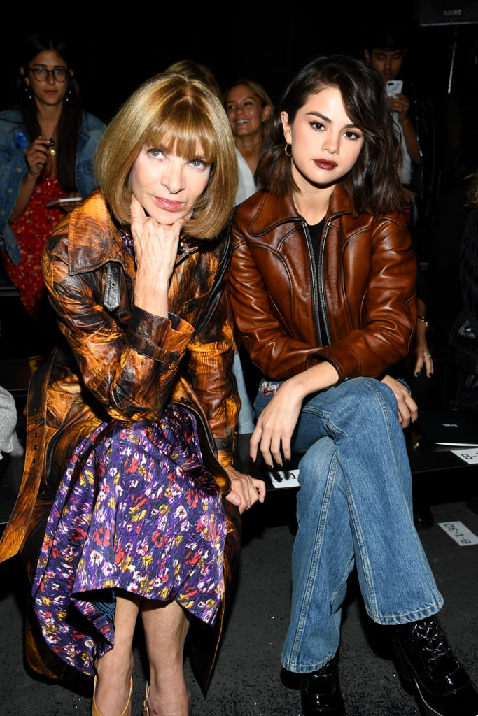 Anna Wintour and Selena Gomez
