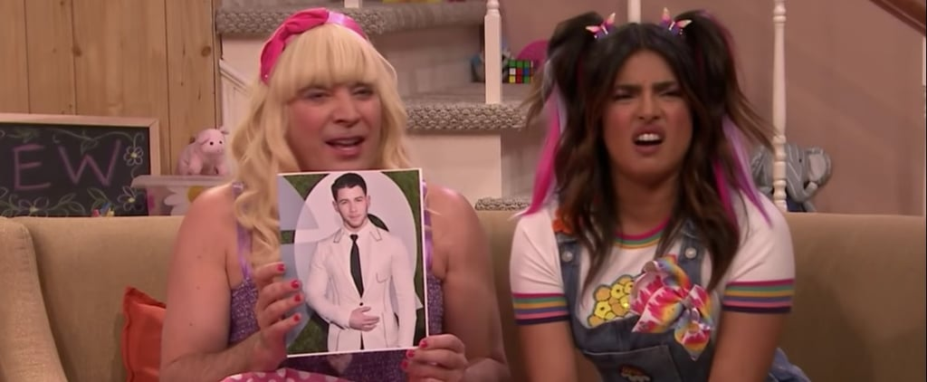Priyanka Chopra and Jimmy Fallon Ew Video