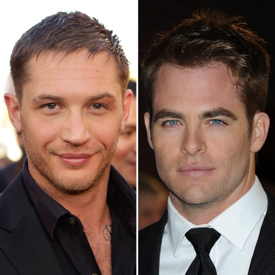 Chris Pine and Tom Hardy Pictures