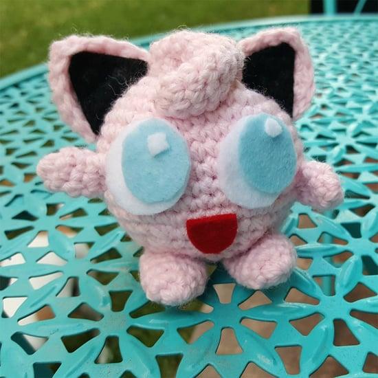 Crocheted Pokemon Toys at PokeStops in Texas
