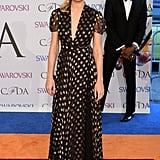 Brie opted for a star-spangled DVF dress at the 2014 CFDA Awards.