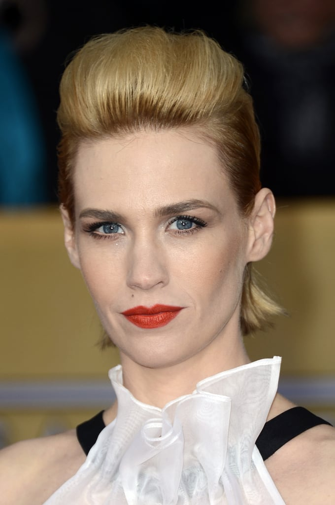 January Jones at the Screen Actors Guild Awards