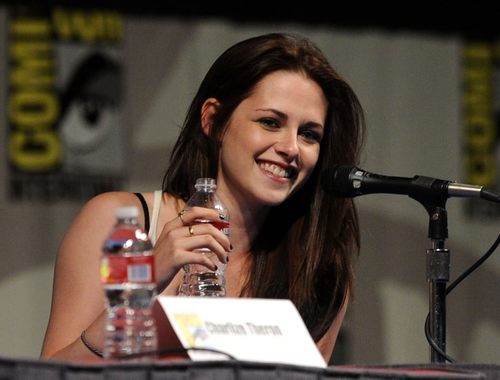Kristen Stewart and Chris Hemsworth at Snow White and the Huntsman Comic-Con Panel