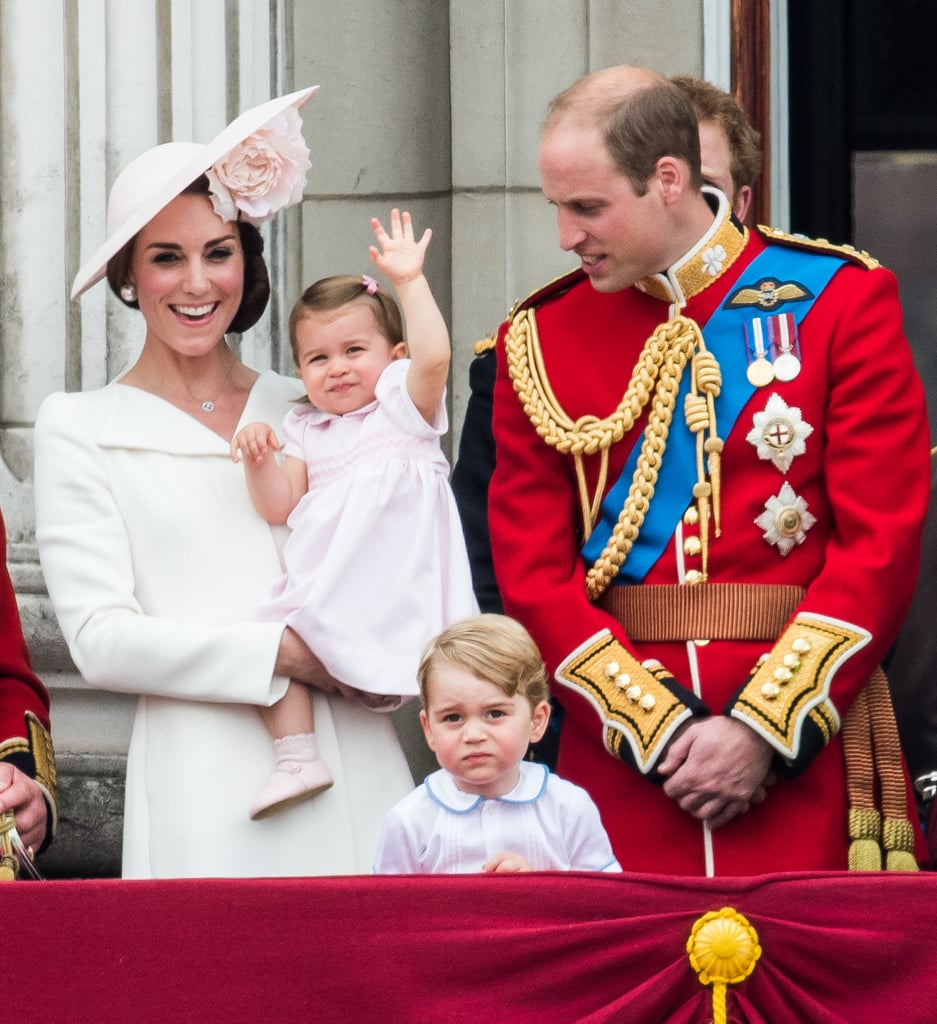 Waving to the Crowd: Princess Charlotte