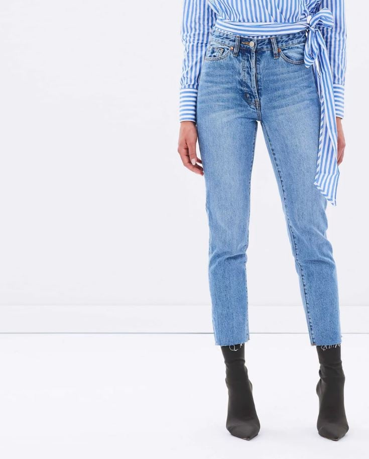 Camilla and Marc Margot Cropped Straight-Leg Jeans, $300