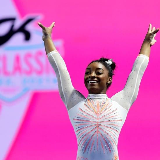 Watch Simone Biles's New 2021 Floor Routine GK US Classic