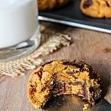 Chocolate Chip Pumpkin Vegan Cookies