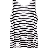 T by Alexander Wang Striped Linen Tank