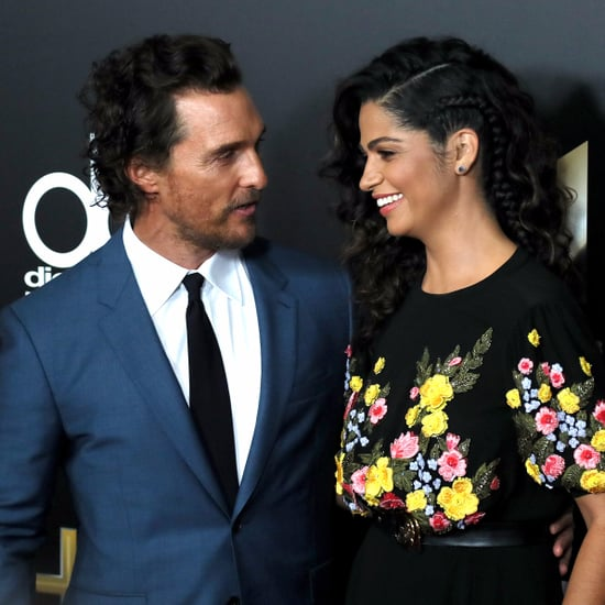 Camila Alves and Matthew McConaughey Pictures November 2016