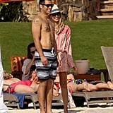Jessica Alba and Cash Warren were on vacation in Cabo.