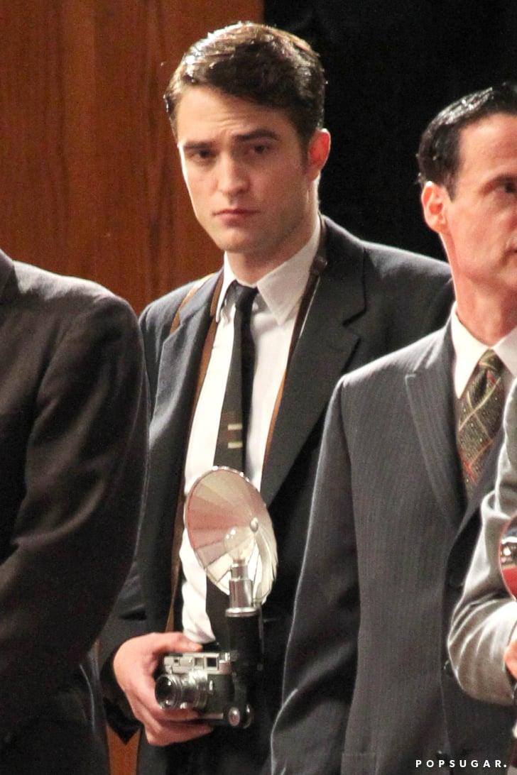 Robert Pattinson Makes One Ridiculously Good-Looking Paparazzo