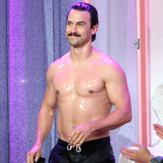 Milo Ventimiglia on The Ellen DeGeneres Show September 2016