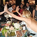 Jessica Chastain, Will Smith, and Petra Nemcova