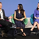 Harry, Meghan, William, & Kate at the Royal Foundation Forum