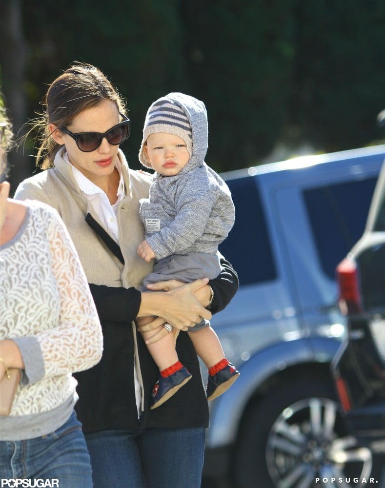Jennifer Garner carried Samuel Affleck.
