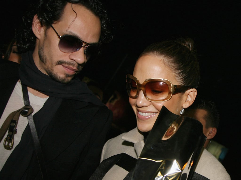 Jennifer Lopez and Marc Anthony were in Rome for Tom Cruise and Katie Holmes's wedding.