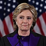 November 9: Hillary Clinton concedes defeat after Donald Trump was elected President on November 8.