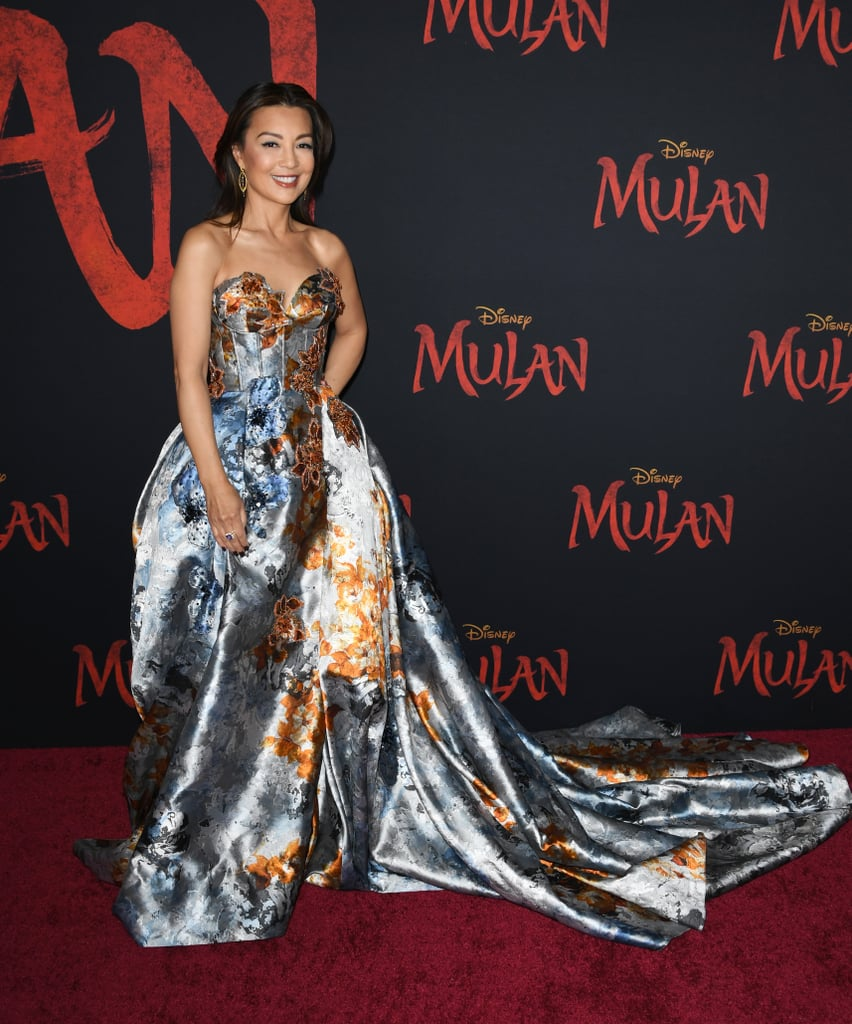 Ming-Na Wen at the World Premiere of Mulan in LA