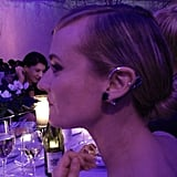 Prabal Gurung snapped a photo of his lovely date, Diane Kruger, during a night at the opera. Source: Instagram user prabalgurung