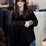 Sandra Bullock Returns Home to Her True Love Louis