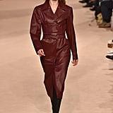 Doutzen Kroes on the Salvatore Ferragamo Fall 2020 Runway at Milan Fashion Week