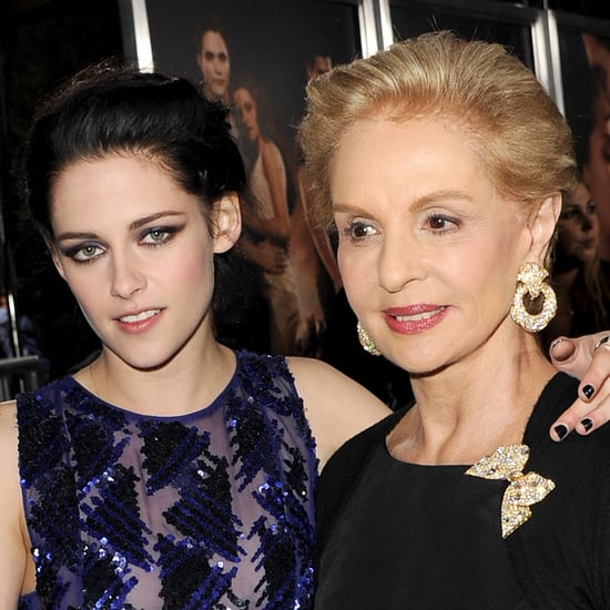 "Kristen Stewart and Carolina Herrera Dish About Bella Swan's ""Fabulous"" Wedding Gown!"