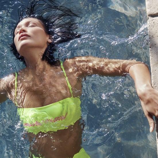 Bella Hadid Calvin Klein Swimwear Campaign | Photos