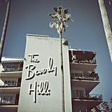 The Beverly Hills Hotel in 1957