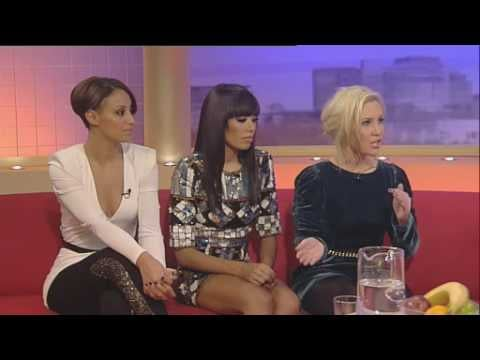 Watch Amelle Berrabah Talk About Going to a Clinic For Exhaustion and Perform About a Girl With Sugababes on GMTV