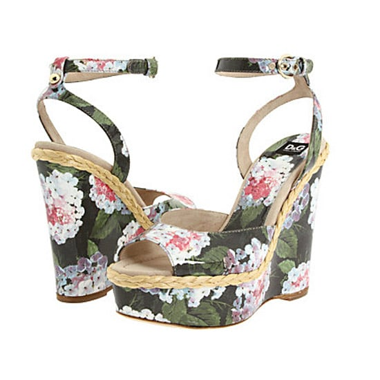 D&G Floral Wedge, $695