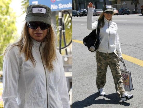 Fergie Wears a Hat Named Hat