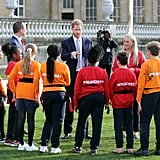 Prince Harry Announces Rugby League Mental Fitness Charter