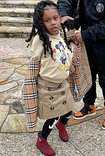 Teyana Taylor's 5-Year-Old Daughter Show Off Runway Walk