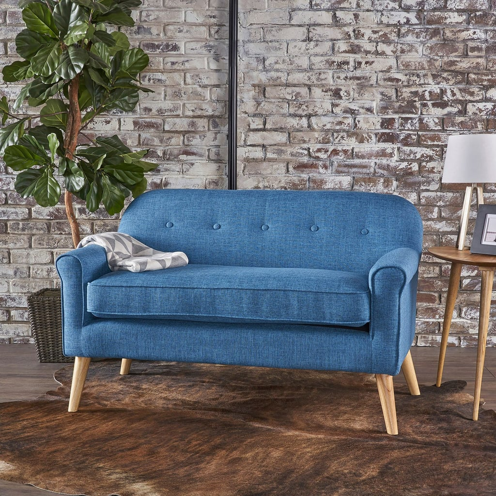 Lani Blue Loveseat Best Small Space Furniture From Pier