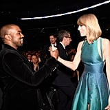 Kanye West and Taylor Swift were actually on good terms in 2015. Ah, those were the days.