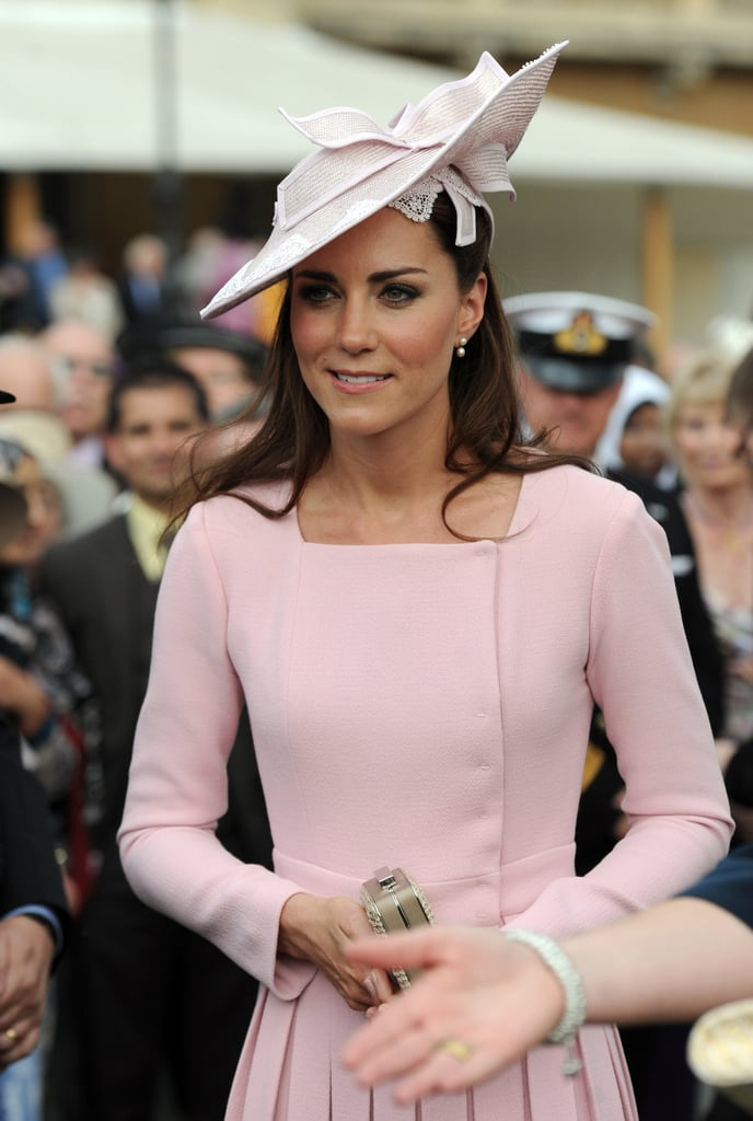 The Duchess of Cambridge Wearing Millennial Pink
