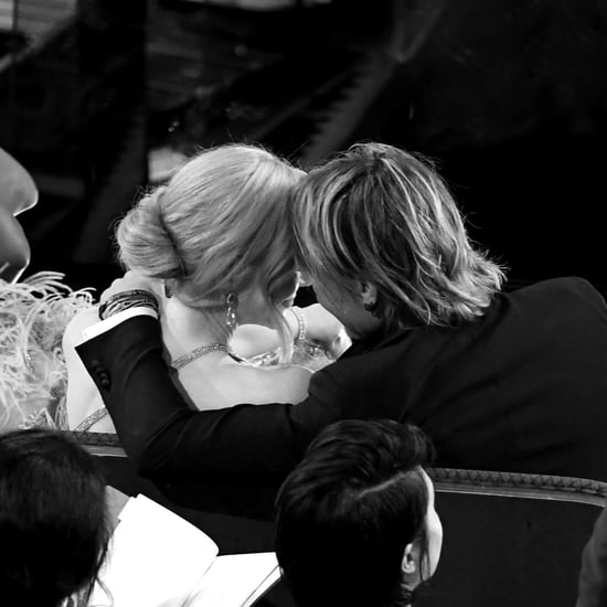 Nicole Kidman and Keith Urban PDA Inside the Oscars 2017