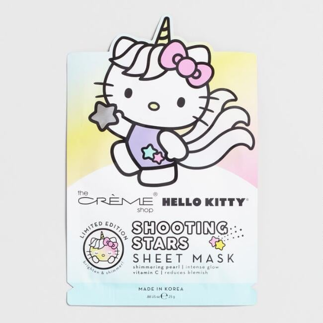 Hello Kitty Shooting Stars Korean Beauty Sheet Mask Set