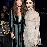 Pictured: Jessica Biel and Lily Collins