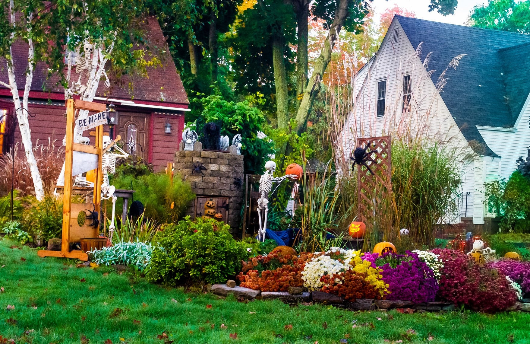 Colorful Yet Spooky 15 Next Level Halloween Decorating
