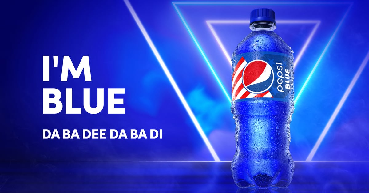 New Label, Same Taste — Pepsi Blue Is Making a Comeback After 20 Years