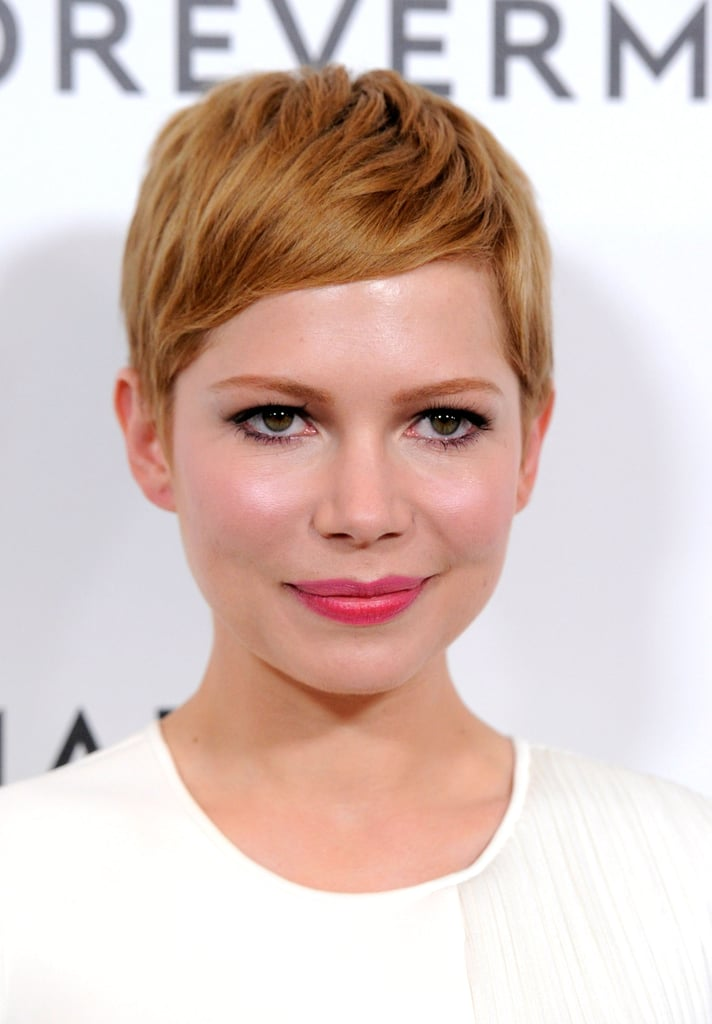 Michelle Williams continued her stay in LA with a Golden Globes event party.